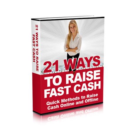 21 ways to raise fast cash Online