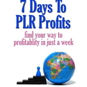 7 Days to PLR Profits - find your way to profitability in just one week