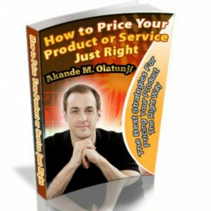 How to Price Your Product or Service Just Right