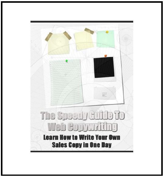 The Speedy Guide to Web Copywriting