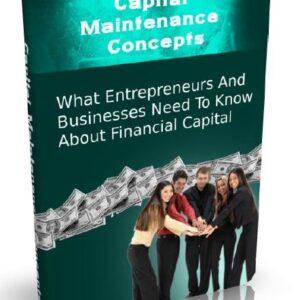 Capital Maintenance Concepts Book