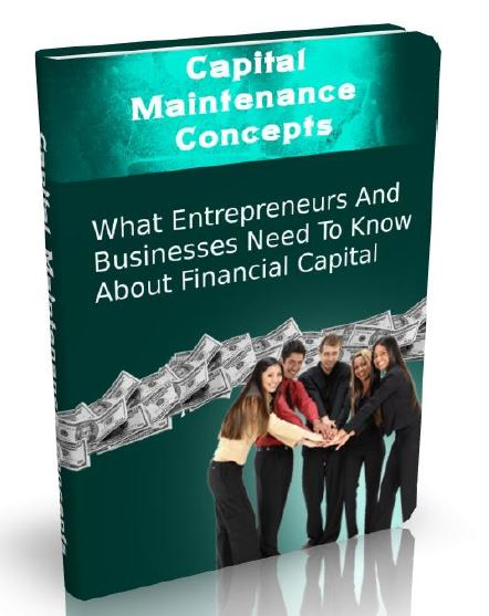 Capital Maintenance Concepts Book